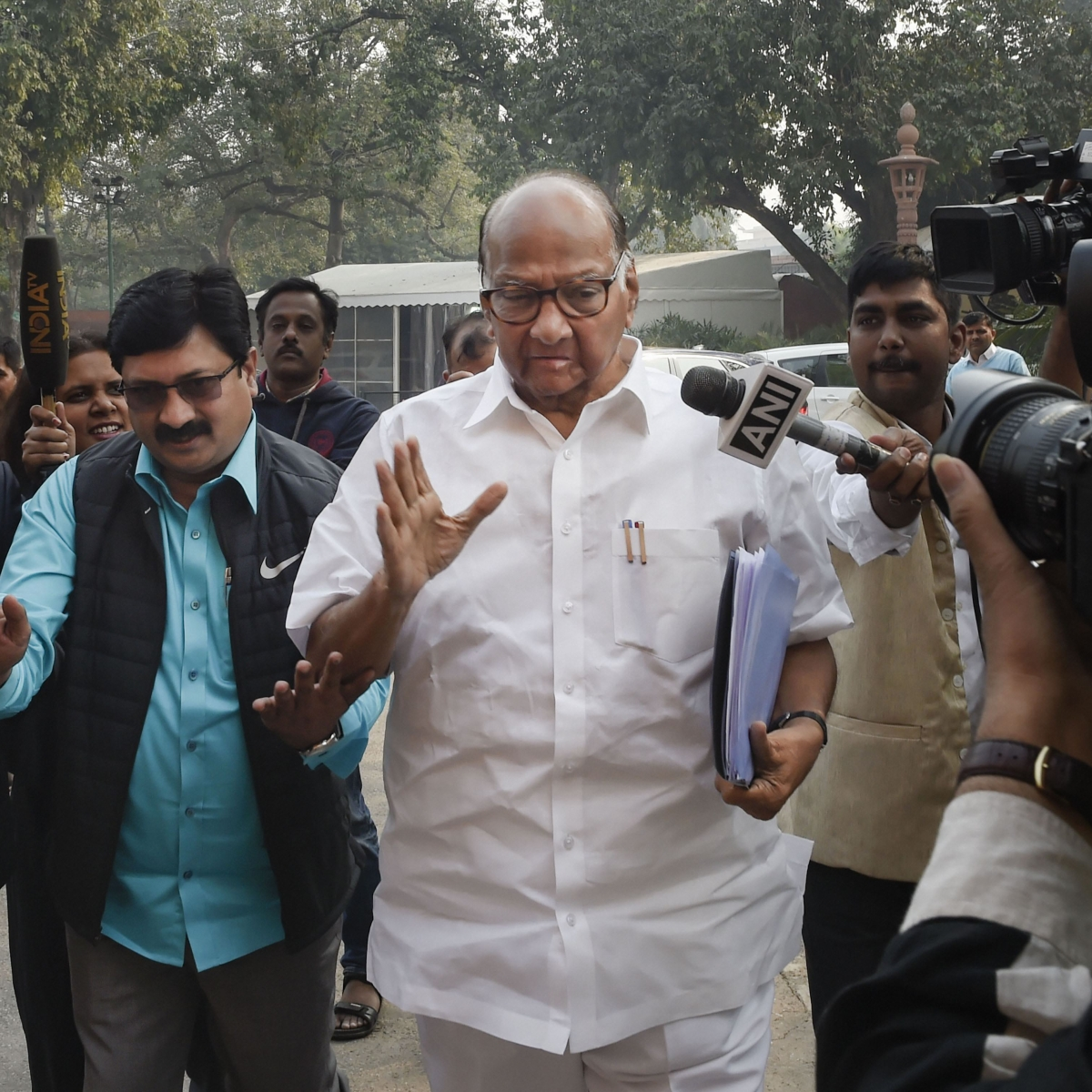 Sharad Pawar to party, he turned the tables on BJP
