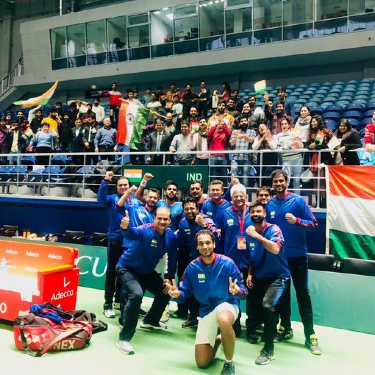 India takes a 3-0 unassailable lead against Pakistan in Davis Cup