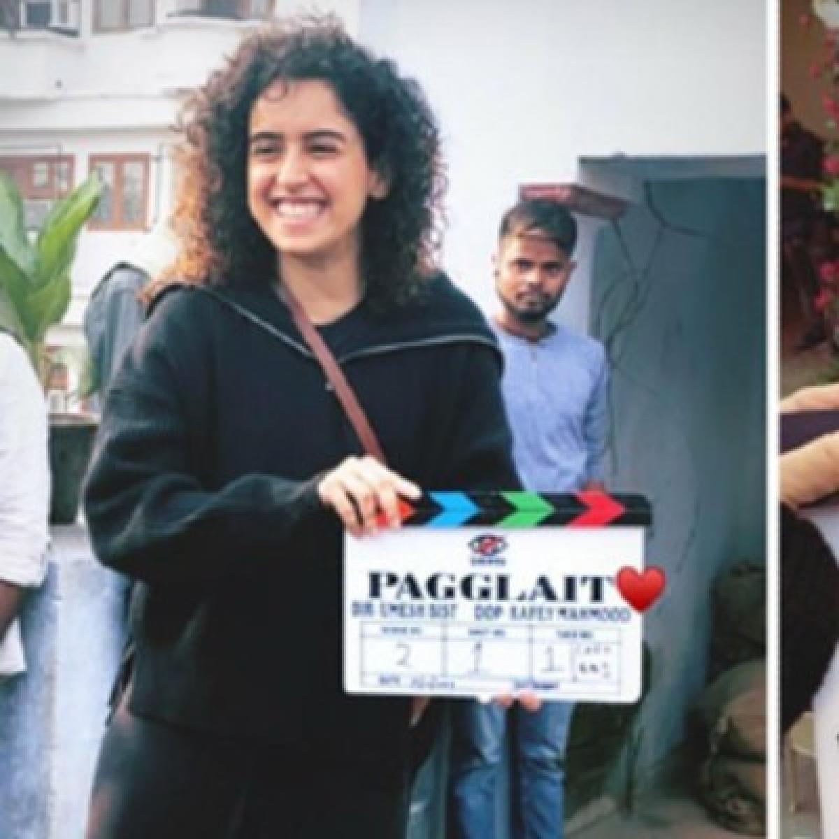 Pagglait: Sanya Malhotra's next goes on floors