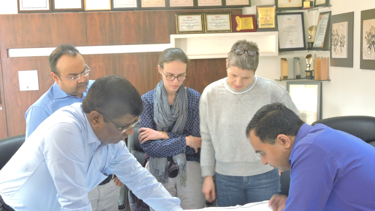 Indore: German team looks into power distribution system
