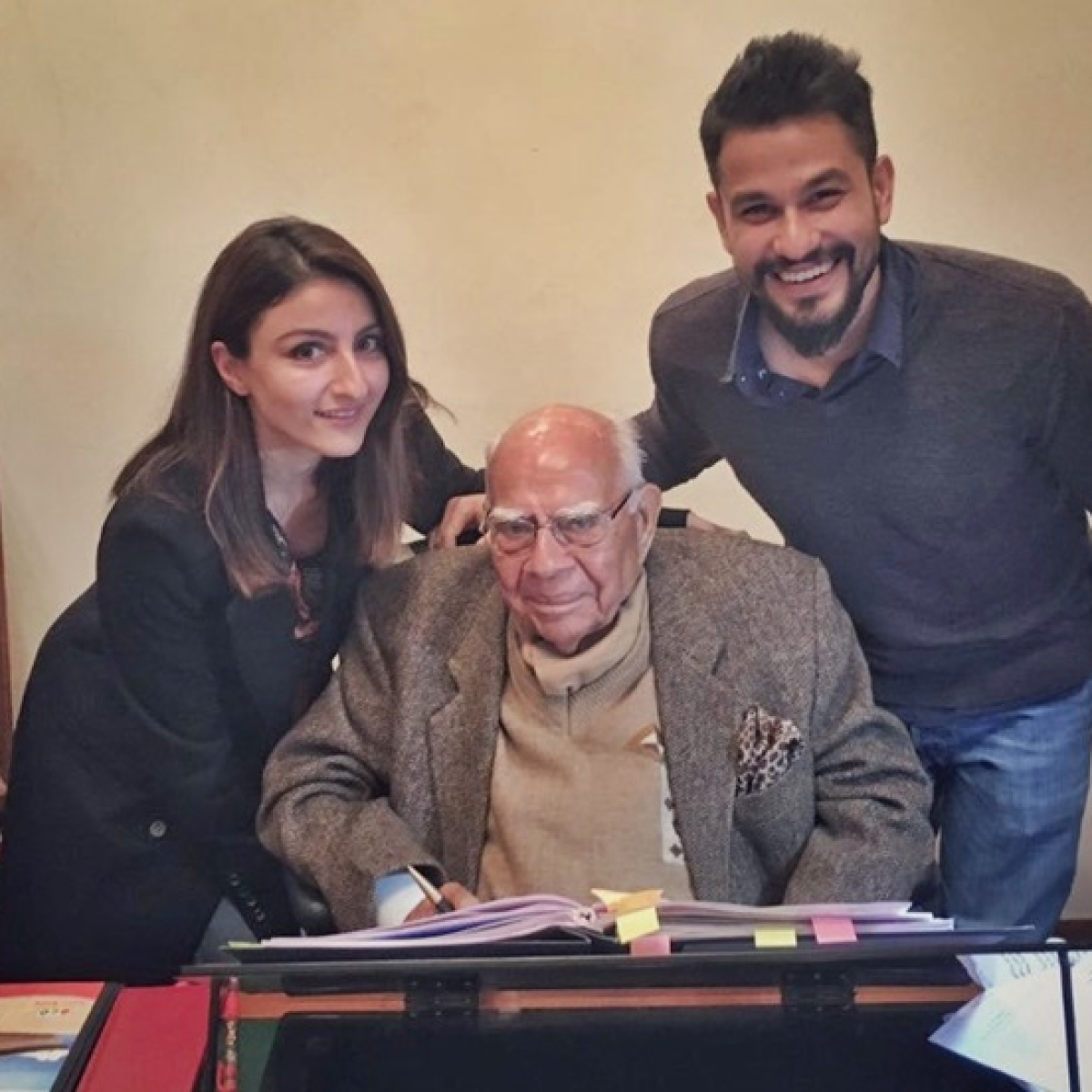 It's an ambitious project and it will take some time: Soha Ali Khan on Ram Jethmalani biopic