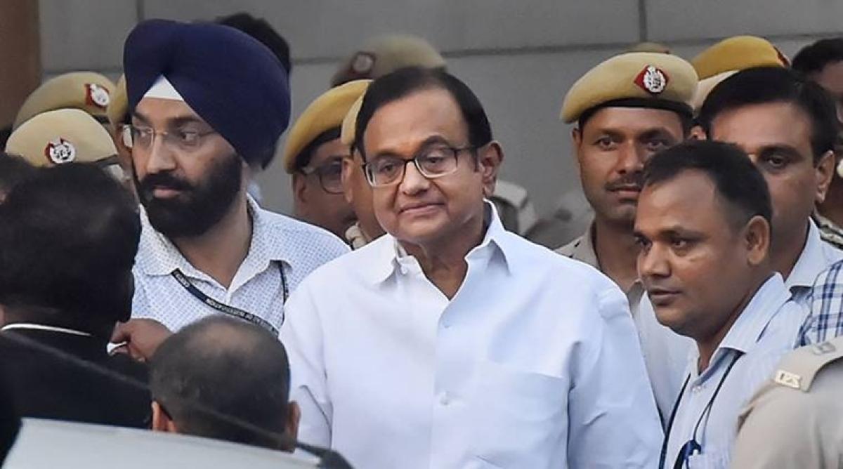 INX Media case: Delhi court allows ED to quiz Chidambaram in Tihar jail