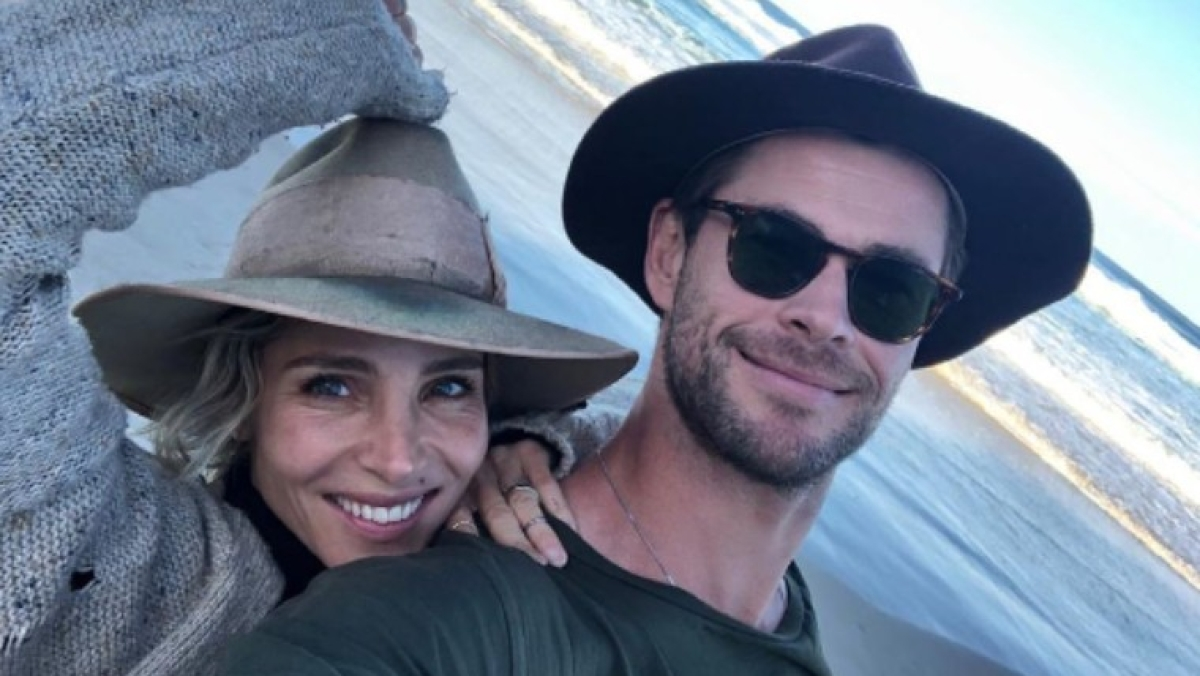 Men will be men: 'Thor' actor Chris Hemsworth gets embarrassed when his wife proves him wrong