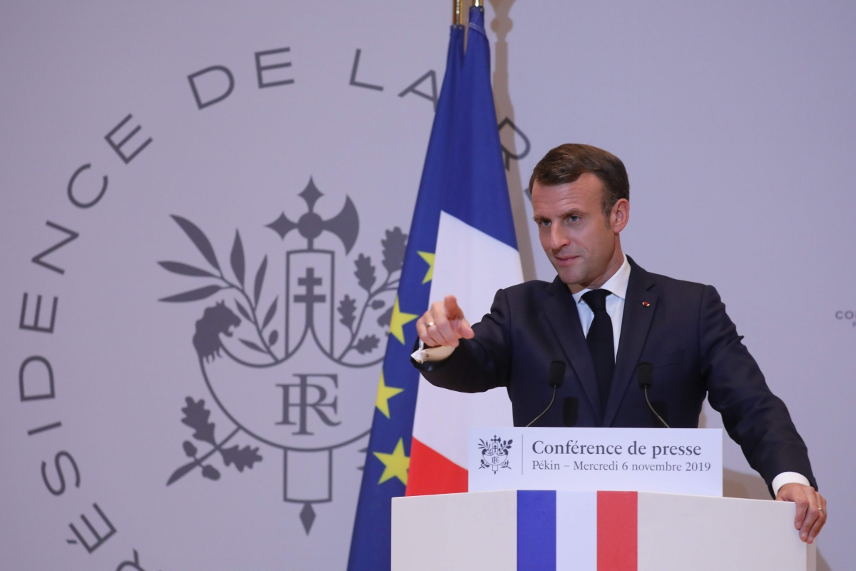 Emmanuel Macron says Iran's nuclear decisions are 'grave'