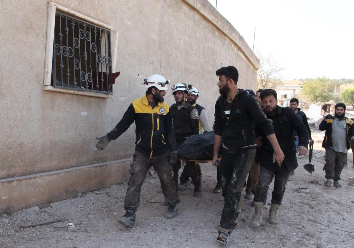 Russian strikes kill nine civilians in Syria: monitor