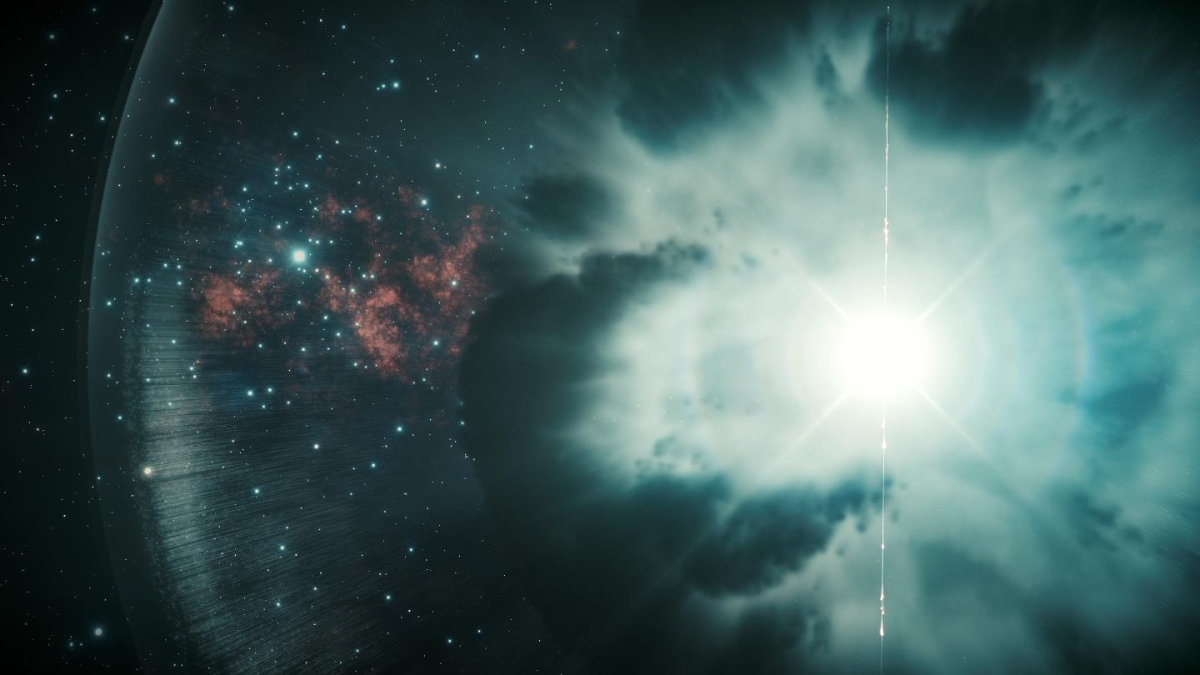 This explosion in space has smashed all records