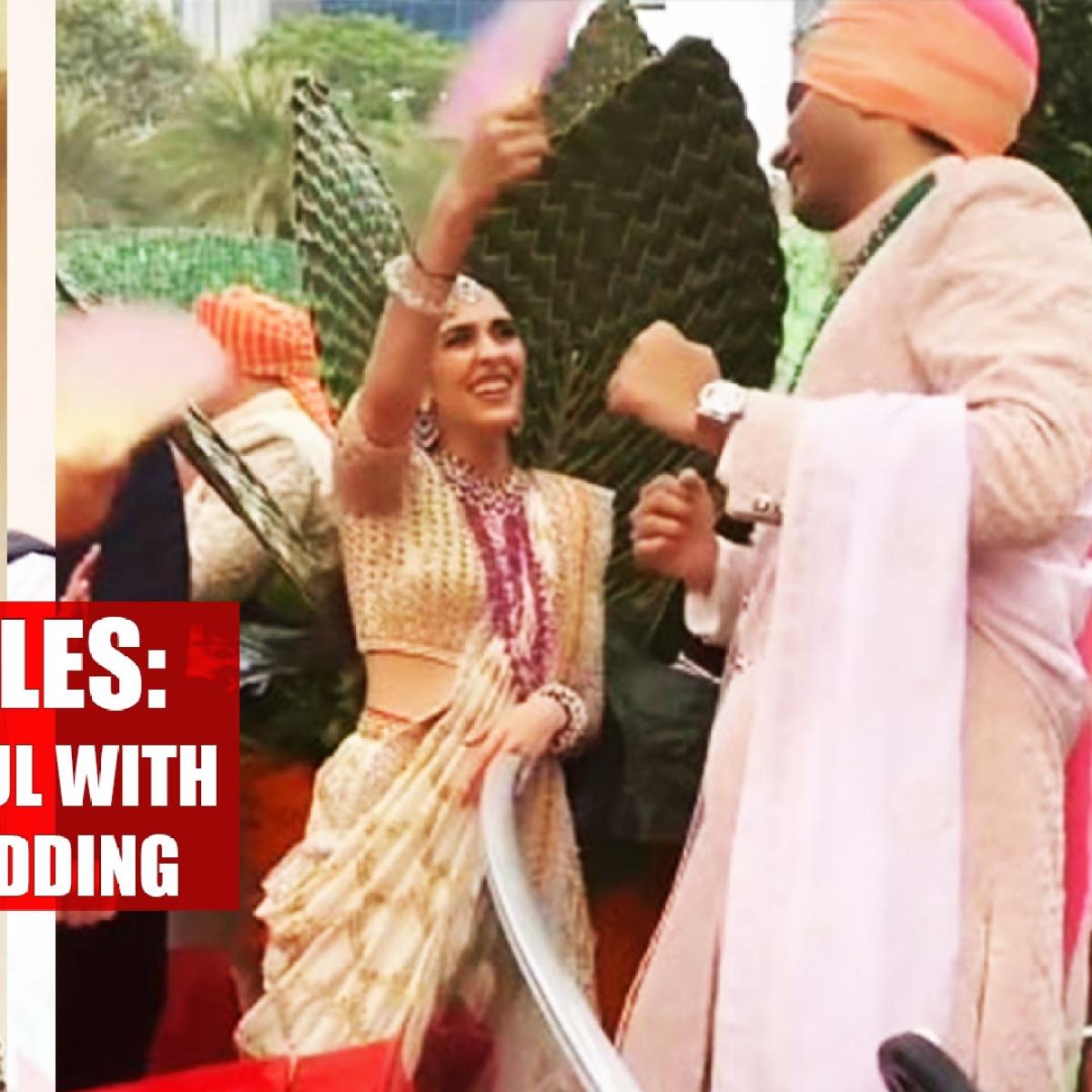 Bhabhi-Devar Tales: Shloka Mehta gets playful with Arjun Kothari at his wedding, watch video