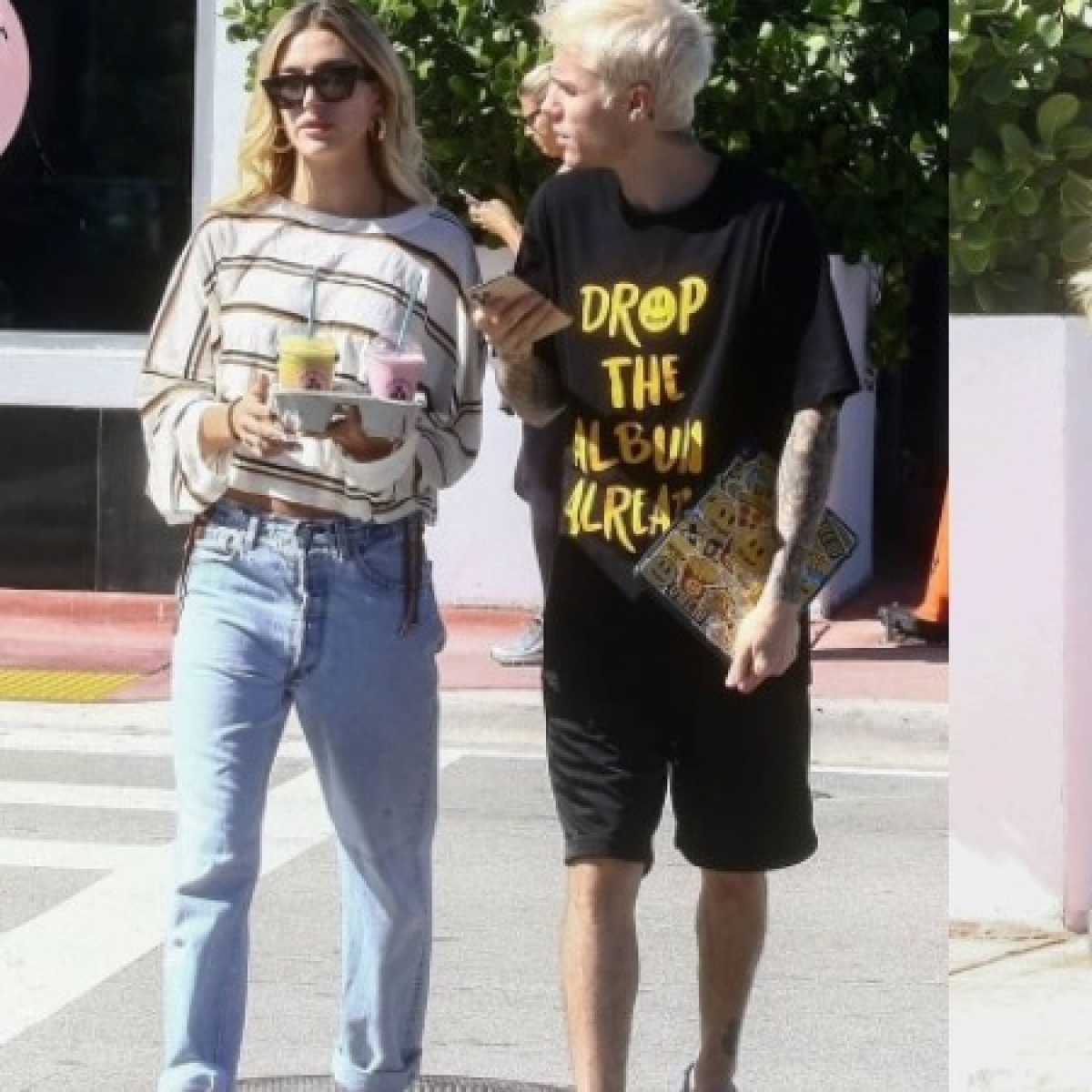 Justin and Hailey Bieber's Miami Thanksgiving is too hot to handle