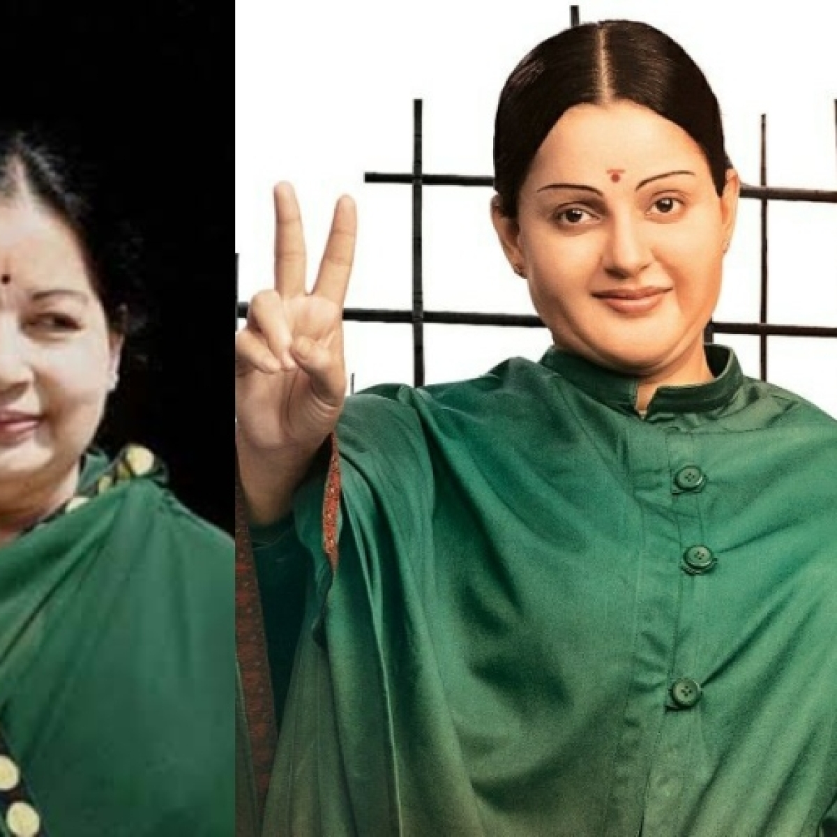 #Thalaivi trends on Twitter as Kangana's Jayalalithaa look evokes mixed reactions