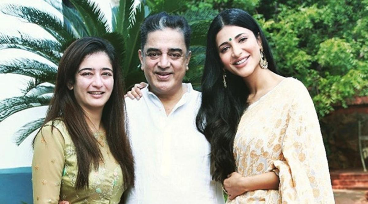 Shruti Haasan wishes father Kamal Haasan on his birthday with lots of love!