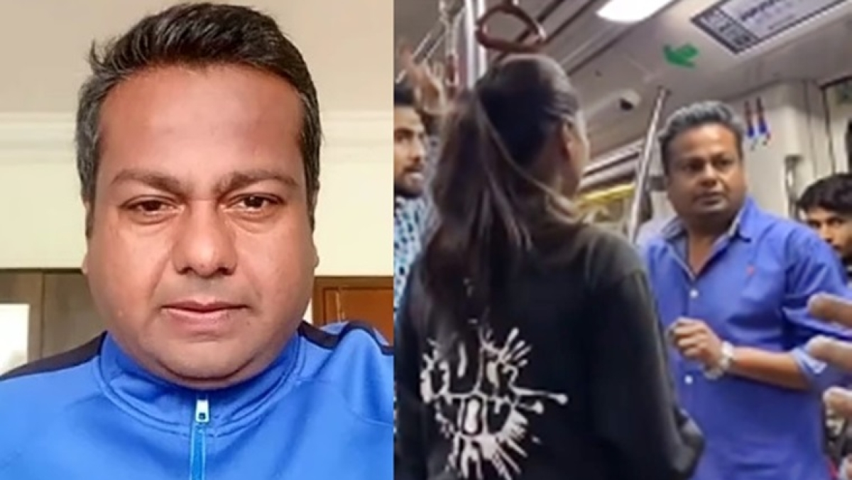 Watch: Deepak Kalal seeks revenge after getting slapped in Delhi metro