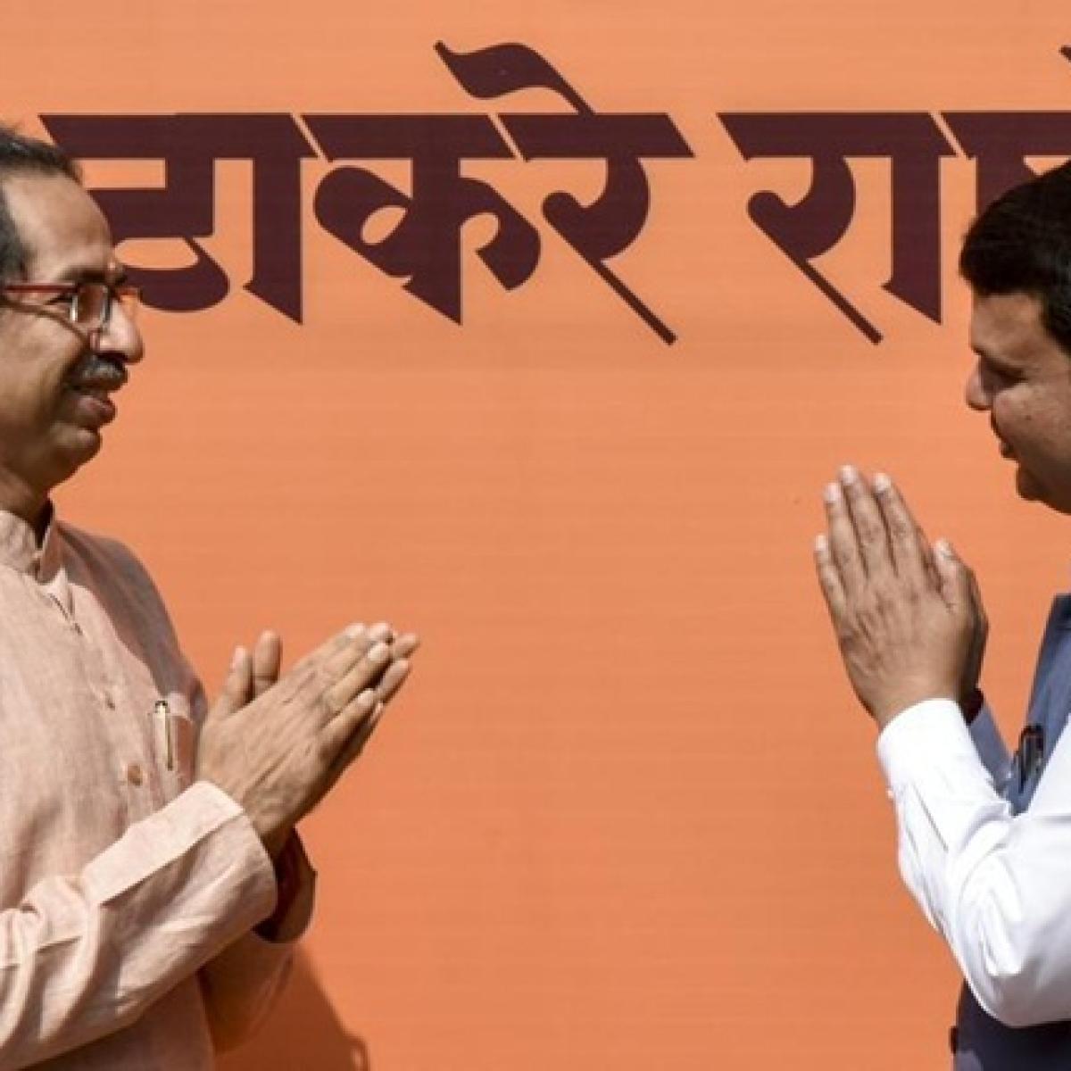 'Shameless politics': Shiv Sena hits out at BJP ahead of SC hearing