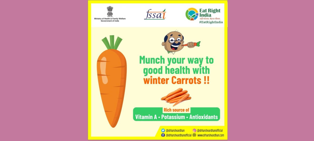 Netizens tear into Health Minister Harsh Vardhan for asking them to eat carrots even as Delhi turned into gas chamber