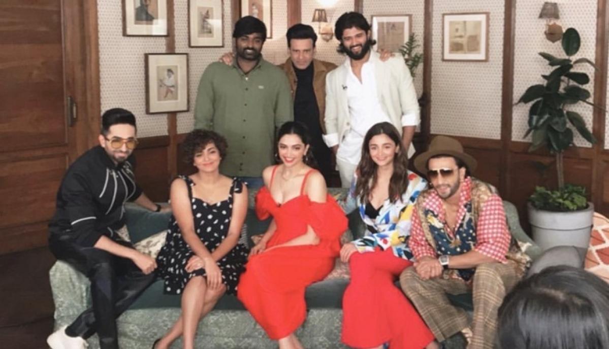 Deepika, Ranveer, Alia and Vijay Deverakonda in one frame; we're blinded by this star-studded pic
