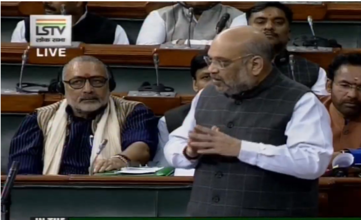 Earlier SPG Bill was made keeping in mind single family: Amit Shah ribs Gandhis