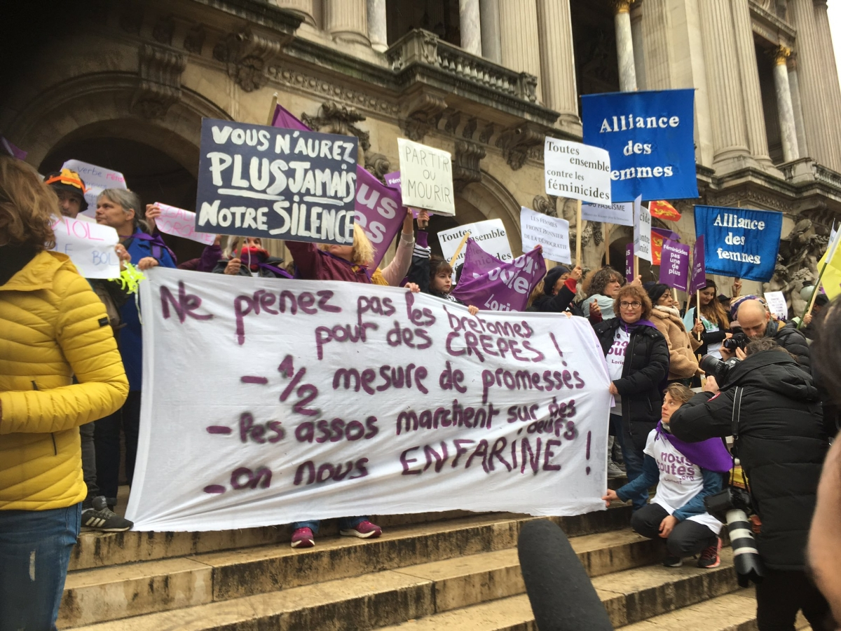 France: Protesters to march against deadly domestic violence