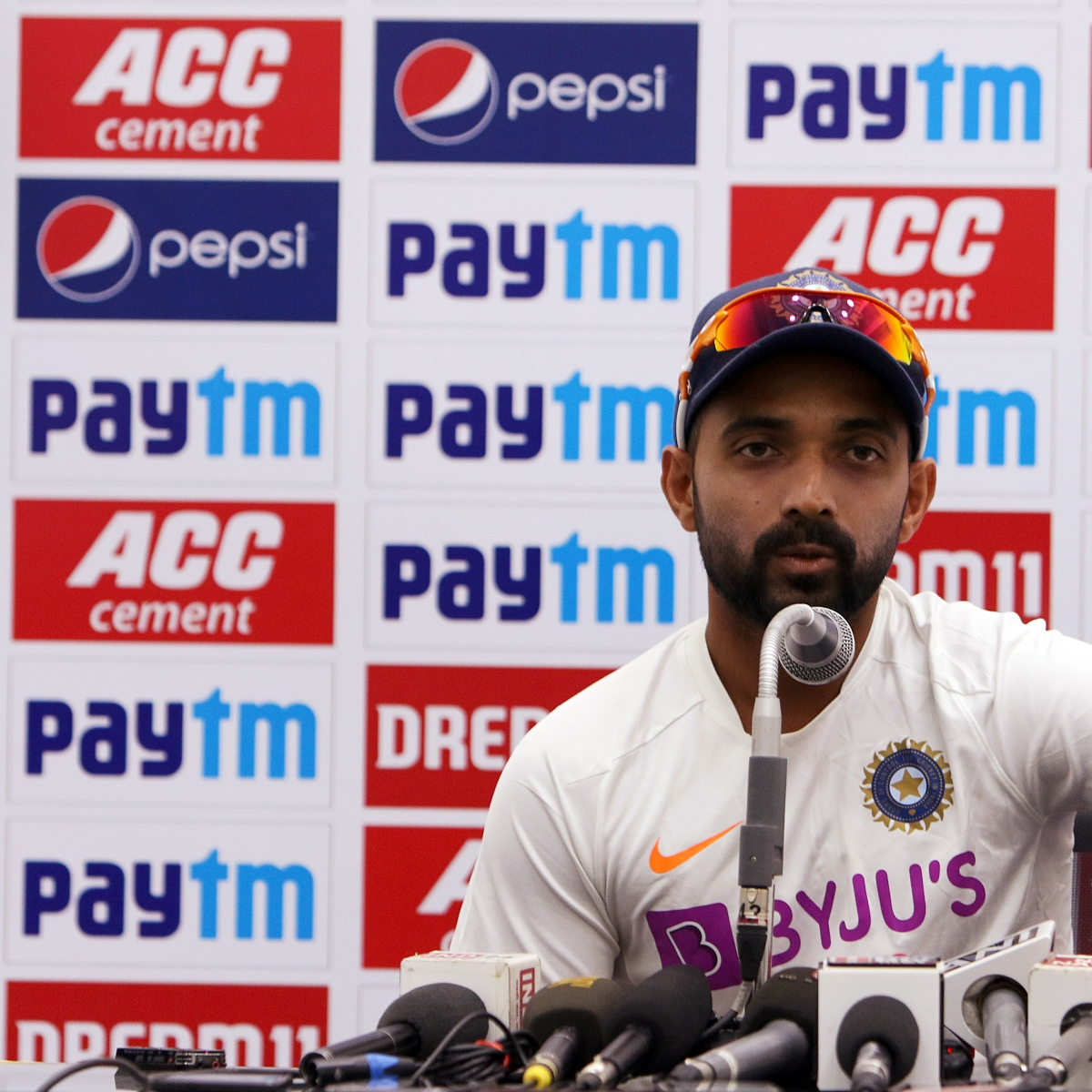 New Zealand vs India: Ajinkya Rahane padded up, already