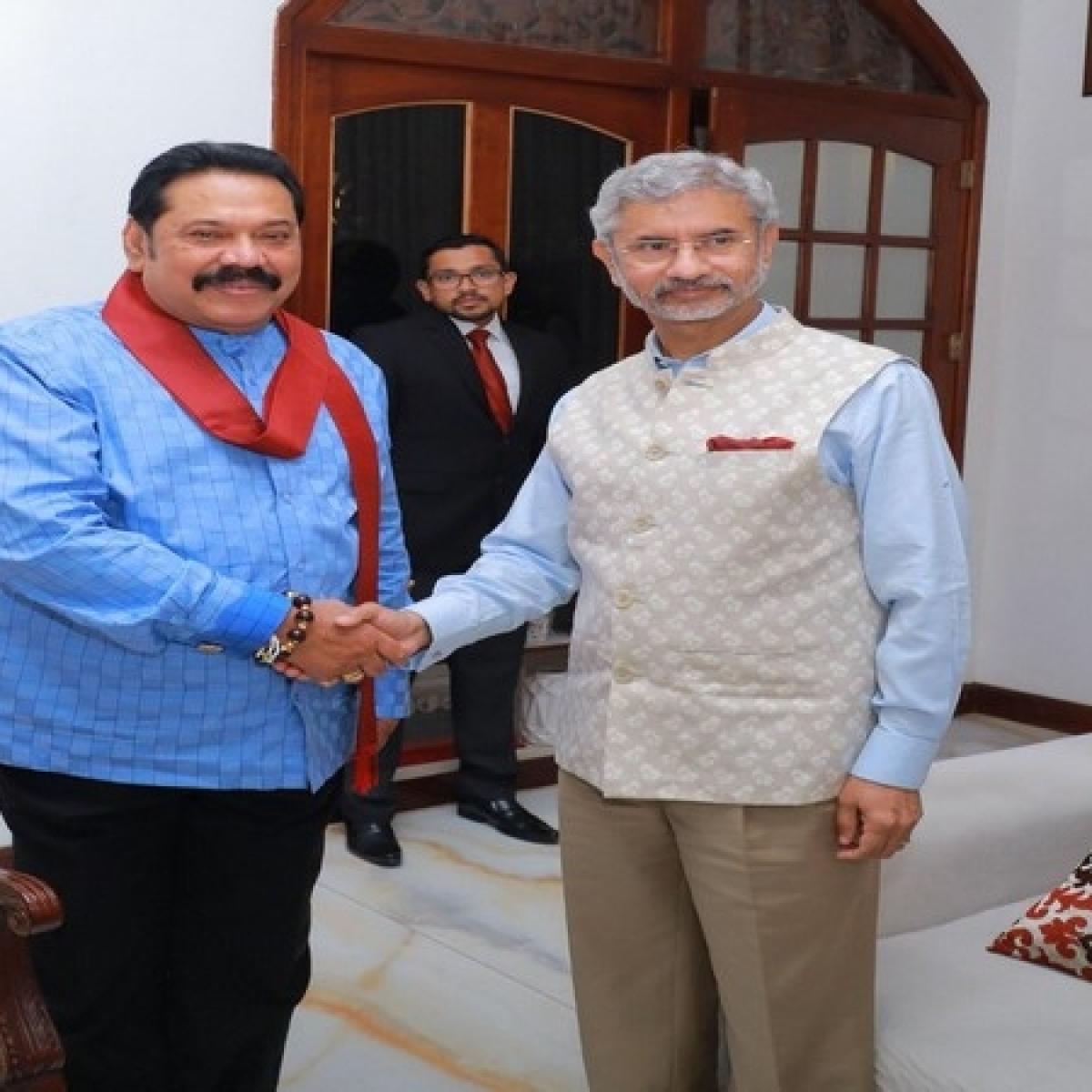 S Jaishankar meets ex-Sri Lankan president Mahinda Rajapaksa, discusses boosting bilateral ties