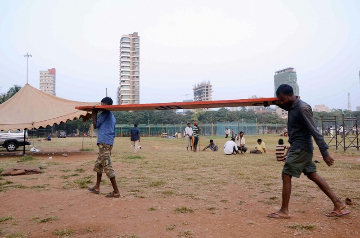 Traffic restrictions imposed in and around Shivaji Park
