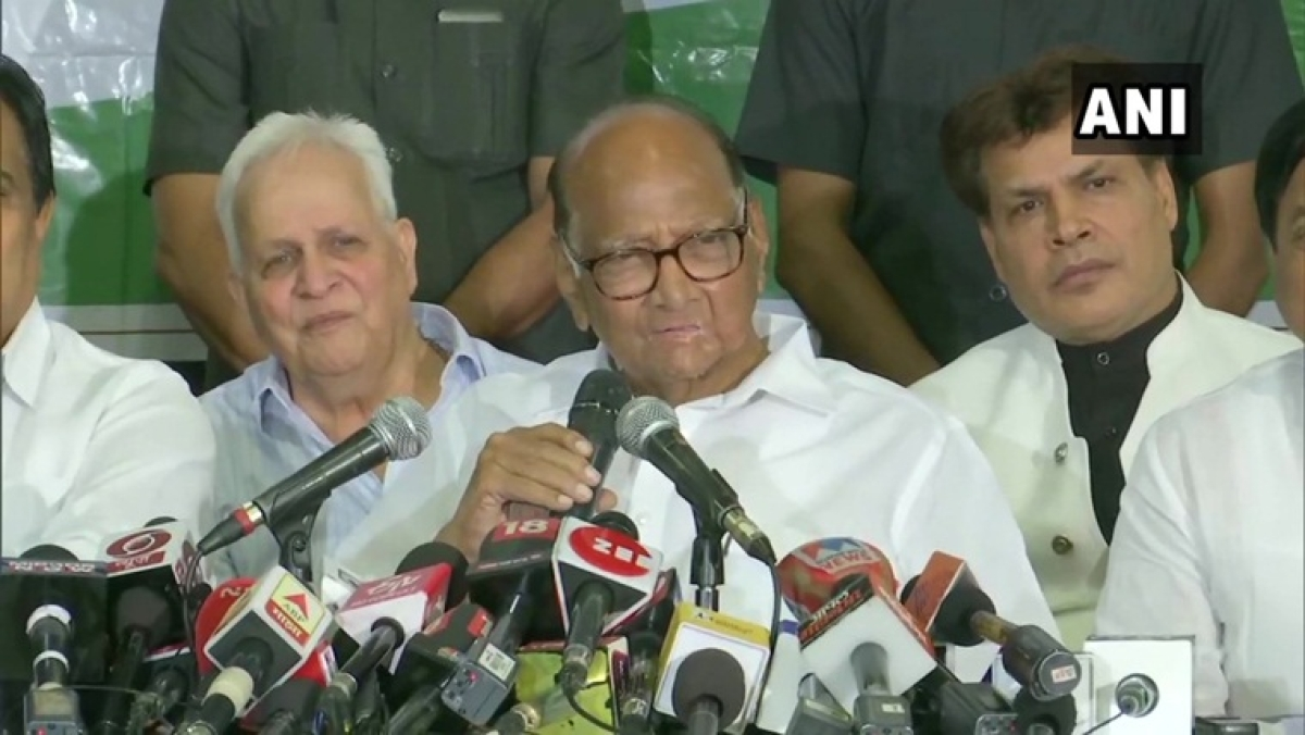 'Will play the role of Opposition': Sharad Pawar rules out possibility of forming government with Shiv Sena