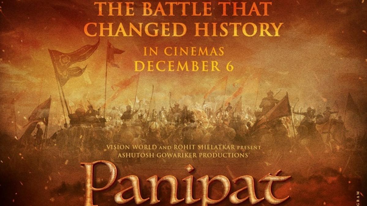 Arjun Kapoor, Sanjay Dutt starrer 'Panipat' to release on December 6