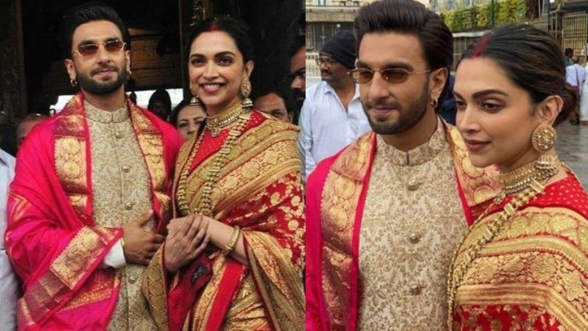 #HappyAnniversaryDeepveer: Wishes pour in for Deepika ...