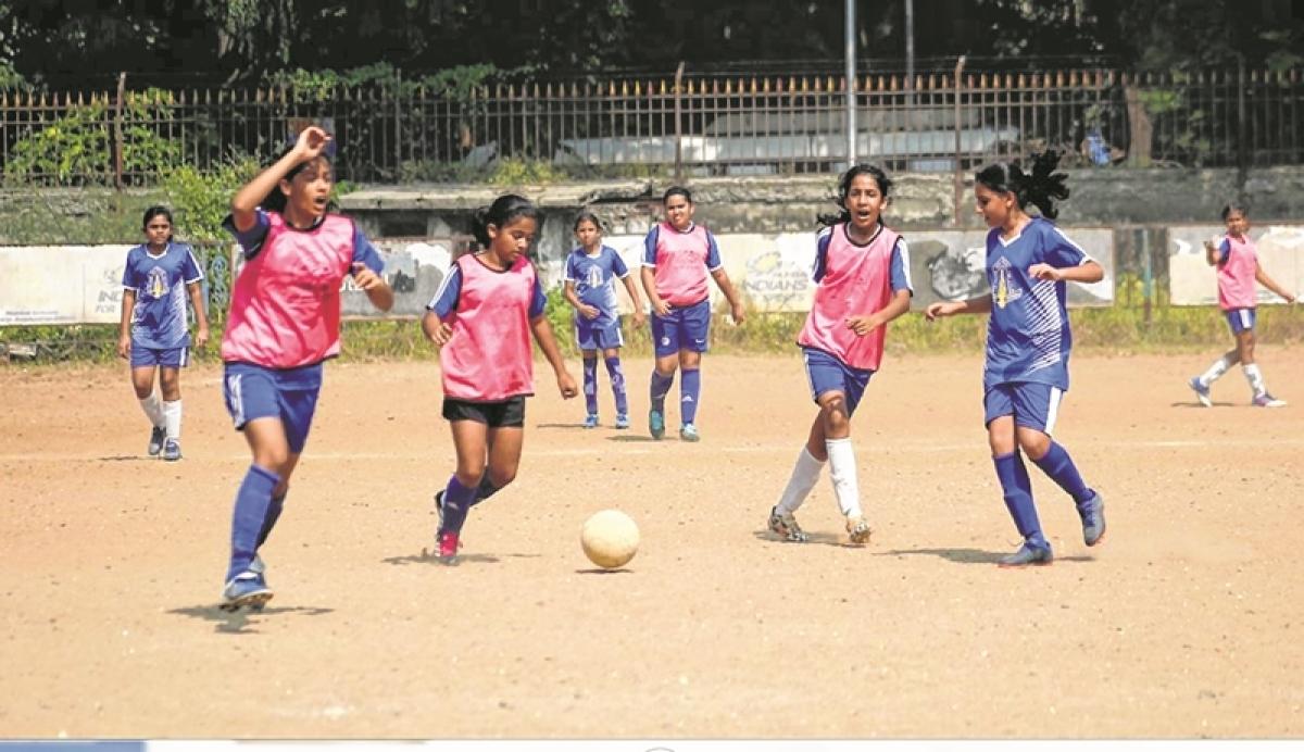 MSSA football tournament: Arzoo Maheshwari, Kyra Mahindru net for Dhirubhai Ambani School