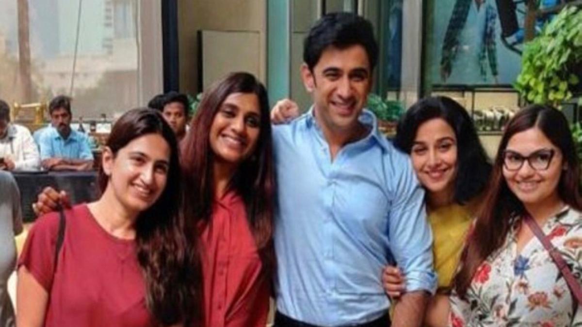 Glad to be in company of all-women team: Amit Sadh wraps up shooting for Vidya Balan's Shakuntala Devi biopic