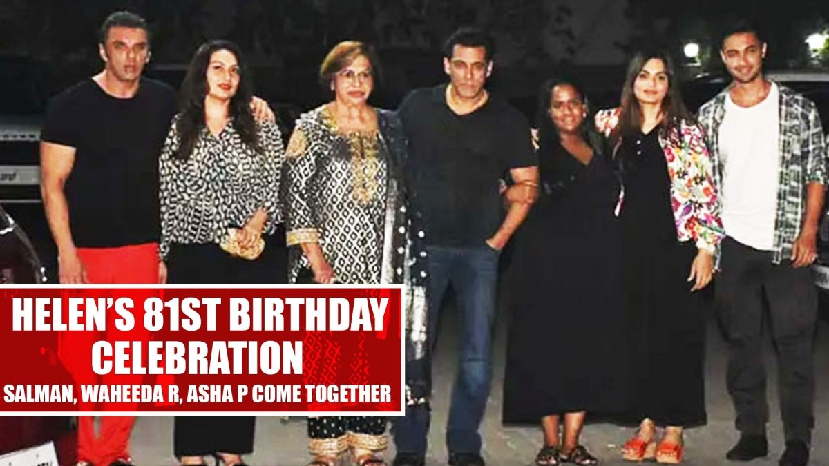 Salman Khan, Waheeda Rehman, Asha Parekh come together to celebrate Helen's 81st birthday