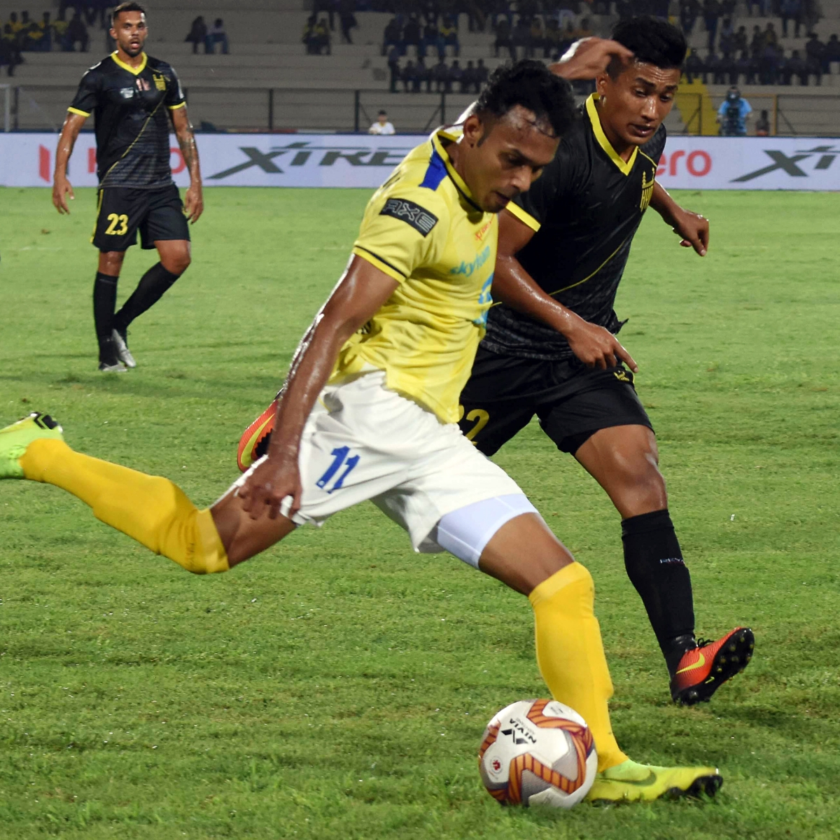 Hyderabad take on NorthEast after their win over Kerala Blasters