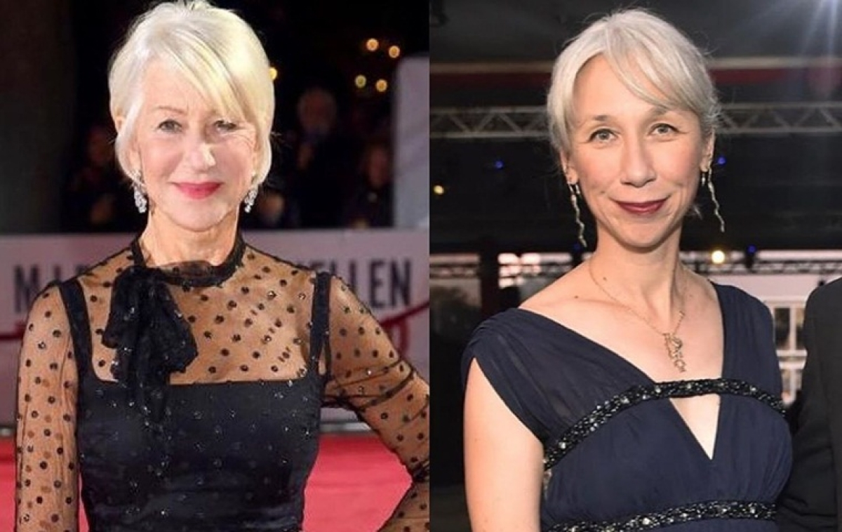 Is that Helen Mirren? Twitter is very confused about Keanu Reeves' girlfriend's identity