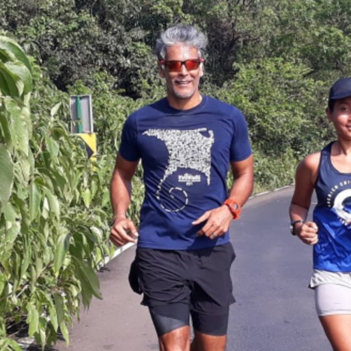 'I did?': Milind Soman stopped in his tracks after man claims he married a 16-year-old!
