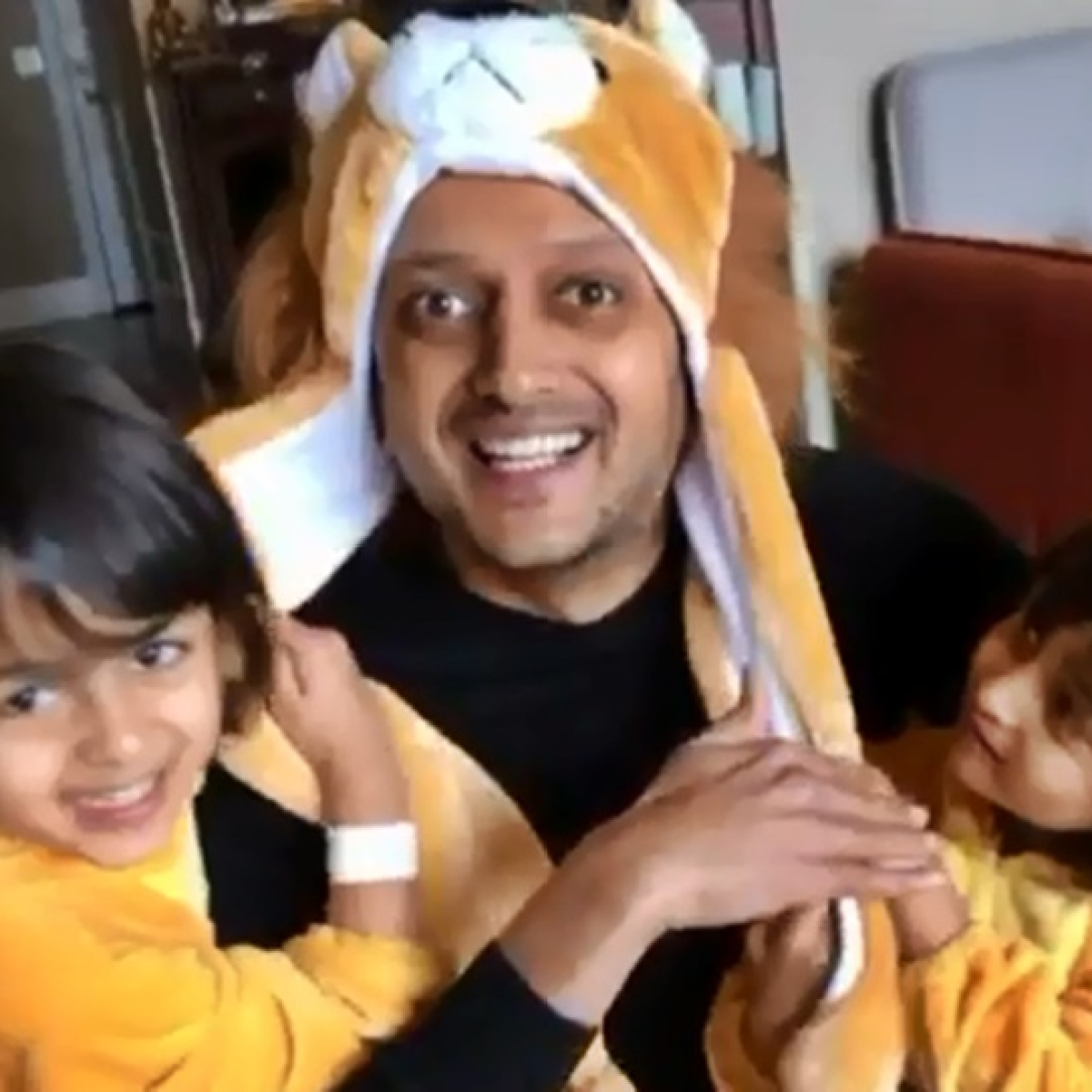 #BalaChallenge by Riteish Deshmukh's kids Riaan and Rahyl is the cutest one ever