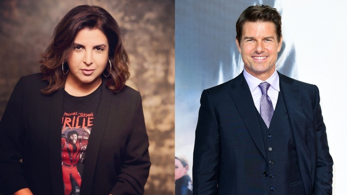 Farah Khan's 'ultimate dream' is to make Tom Cruise dance