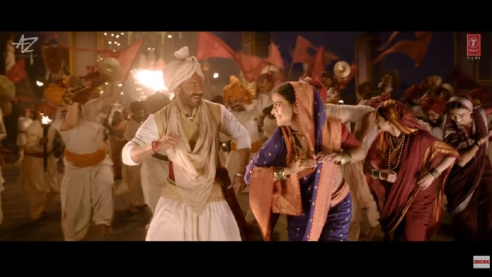 Image result for Kajol and Ajay Devgn tanhaji'