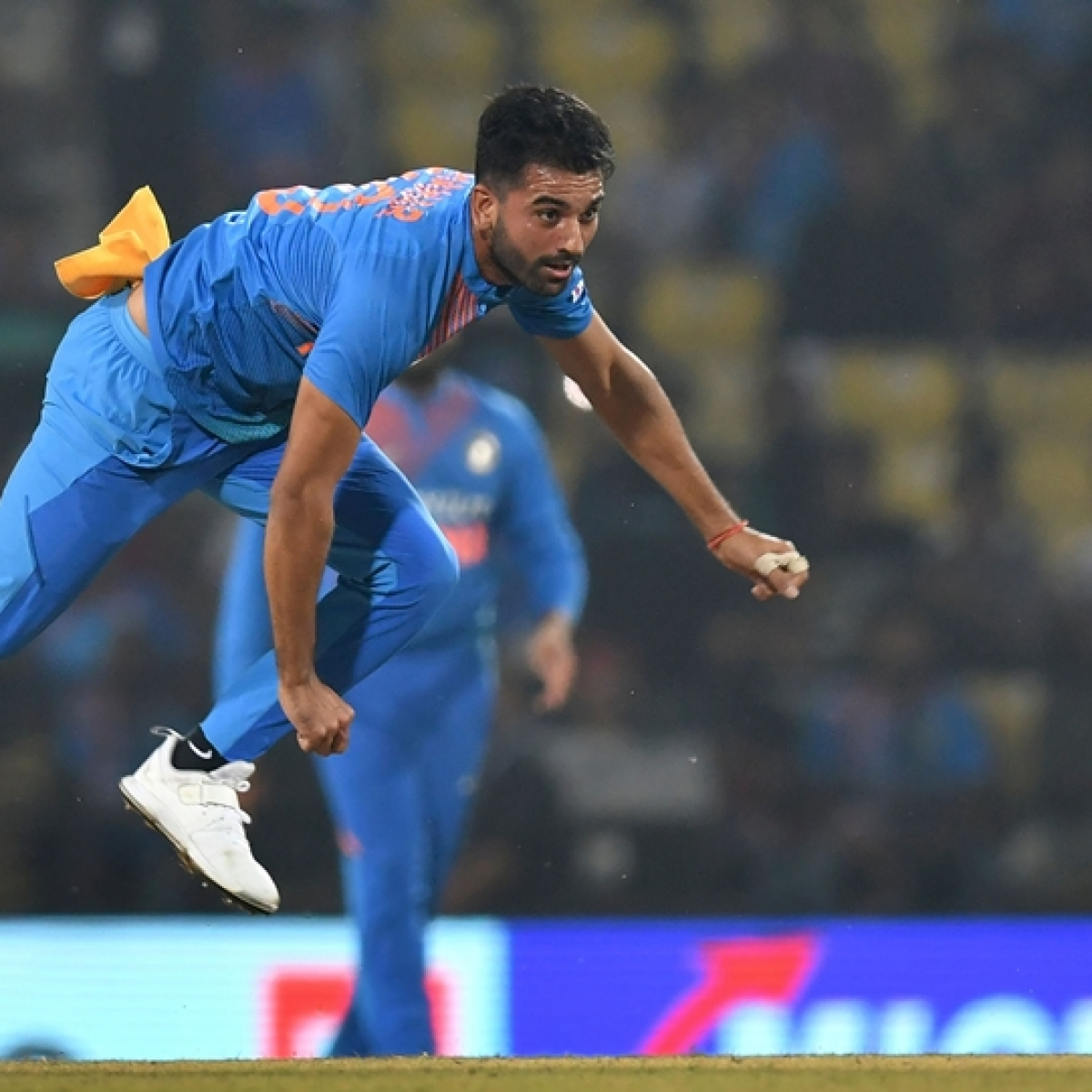 Mayank Mishra claims 3-in-3, Deepak Chahar gets 3-in-4