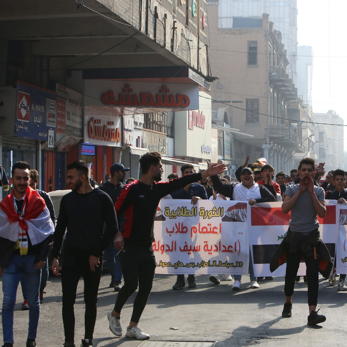 Iraq: 6 protesters killed as unrest intensifies