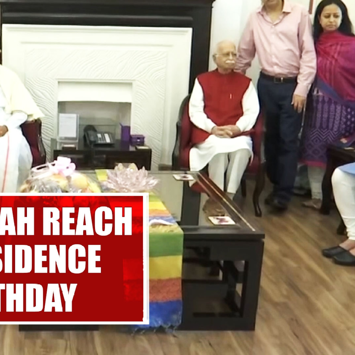 PM Modi, Amit Shah Wishes LK Advani On His 92nd birthday