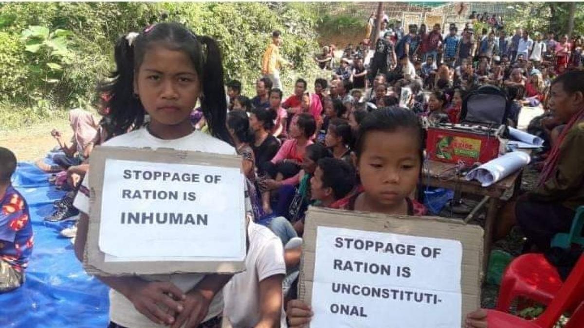 Death toll in Tripura Bru relief camp rises to six, blockade continues