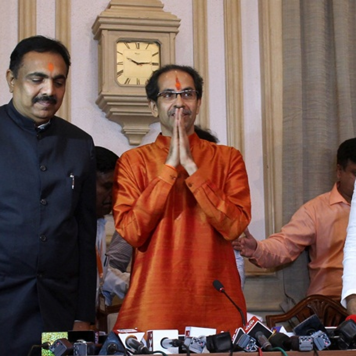 Uddhav exchanges NCP ministers Jayant Patil and Chhagan Bhujbal's portfolios