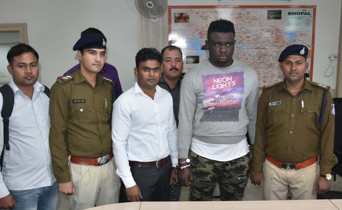 Bhopal: Nigerian held for duping woman of Rs 71L