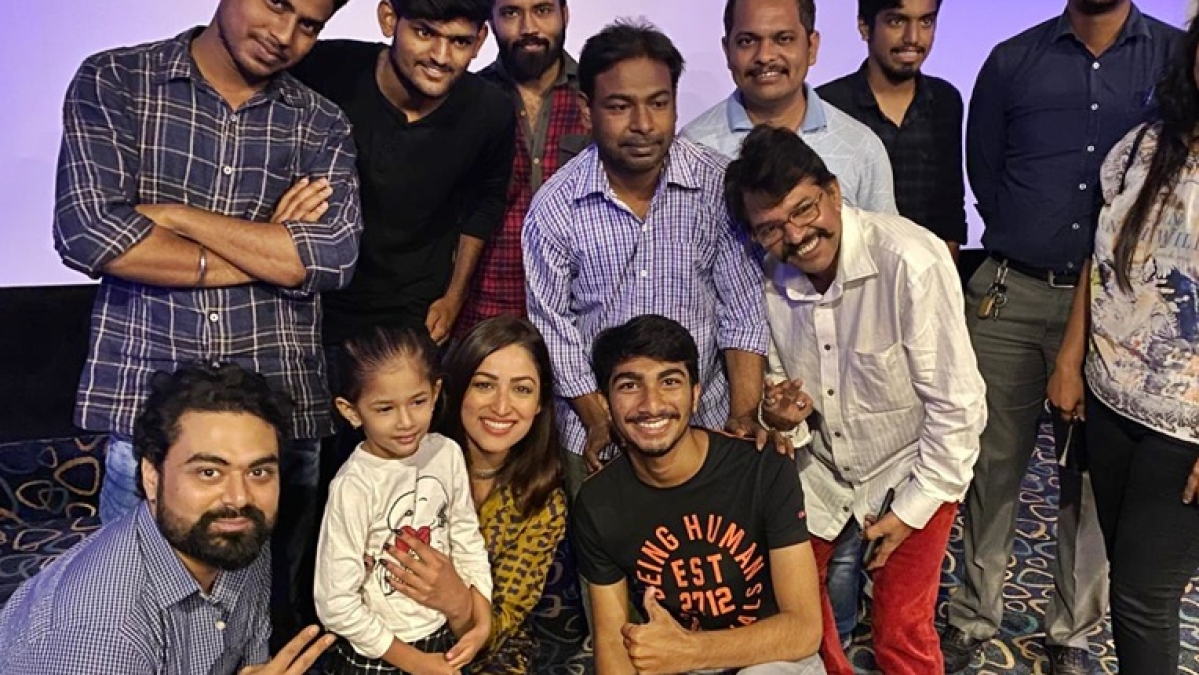 Yami Gautam hosts a special screening of 'Bala' for paparazzi