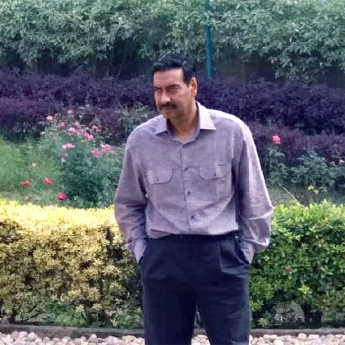 Leaked photos of Ajay Devgn's retro look in 'Maidaan' go viral