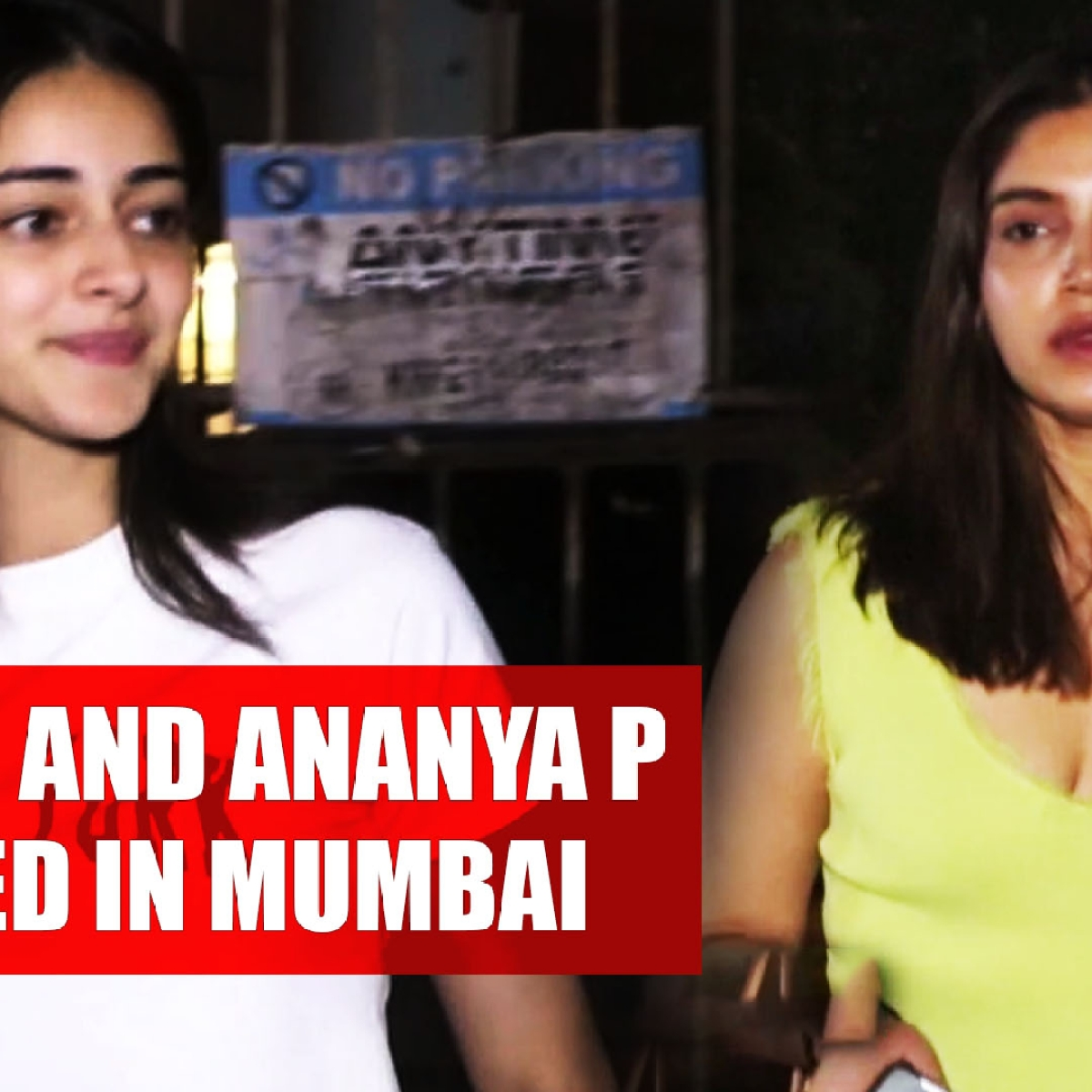 Bhumi Pednekar, Ananya Panday spotted in Mumbai