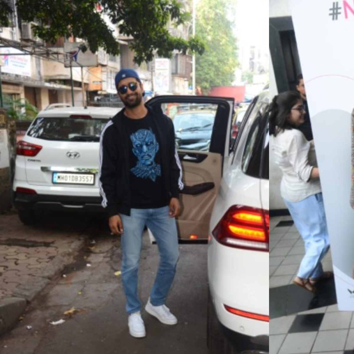 No more Monday blues: Vicky Kaushal, Jacqueline Fernandez step out with a smile to light our day up
