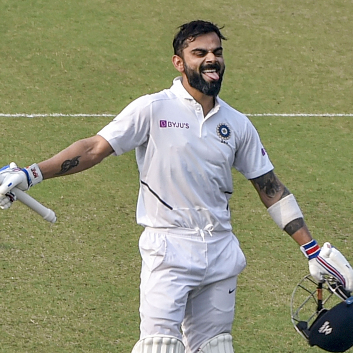 Sorry folks Virat Kohli is not the first Indian to score a Pink-Ball Test century