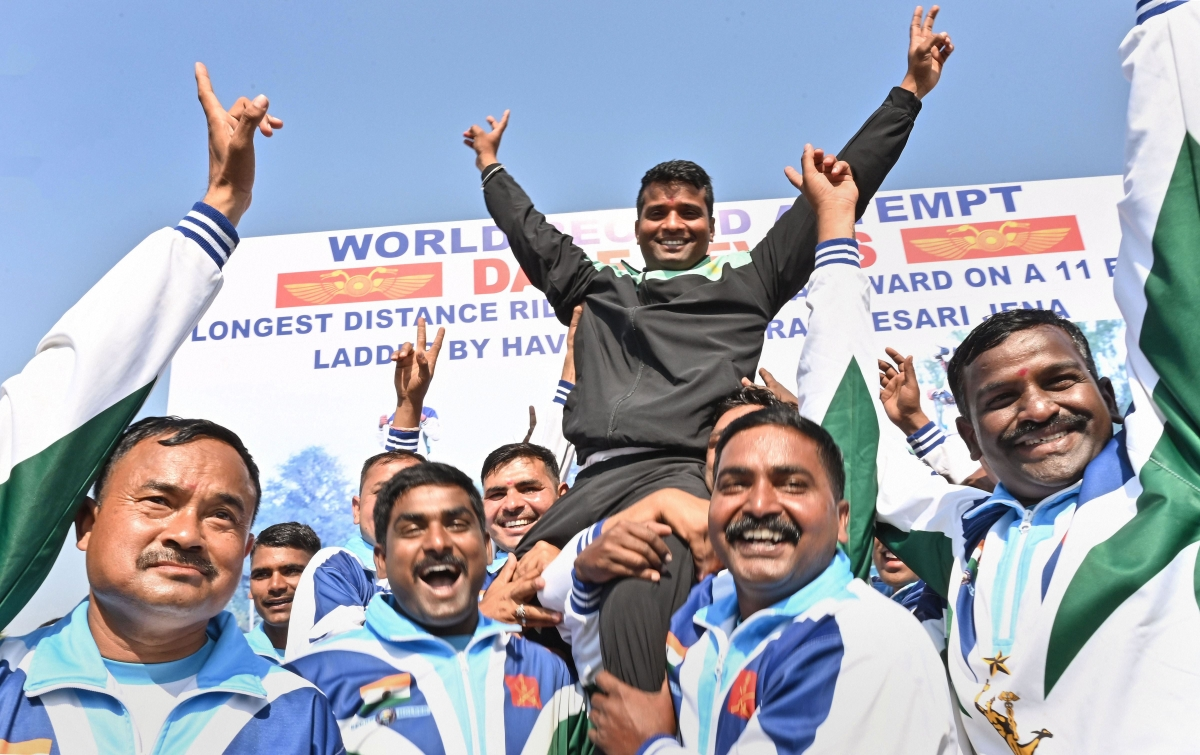 Bhopal: Dare Devil Havaldar sets new world record