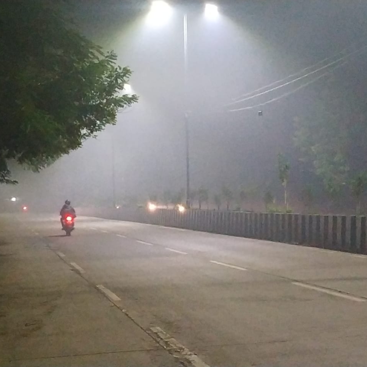 Indore: Winter sets in city