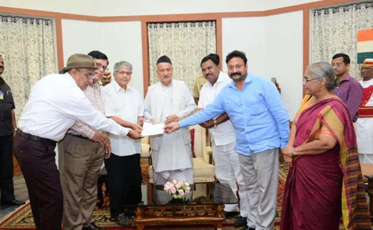 'Take necessary steps to avert President's rule': Prakash Ambedkar urges Maharashtra Guv