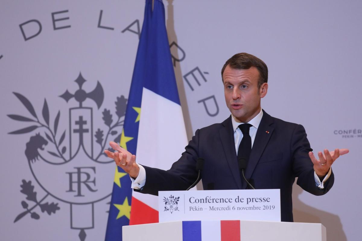 French President Emmanuel Macron calls NATO brain dead